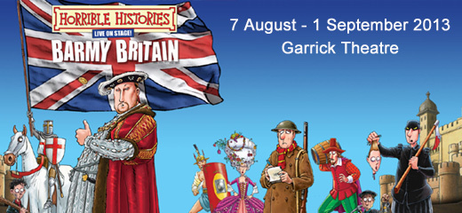 Horrible Histories - Barmy Britain - Part 1!