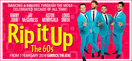 The smash hit show Rip It Up - The 60's will transfer to the West End