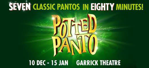 Potted Panto - Vaudeville Theatre - ATG Tickets