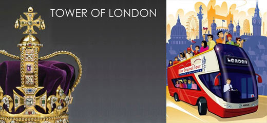 The Tower Of London + London Bus Tour