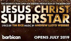 Book  Jesus Christ Superstar at the Barbican Tickets