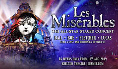 Book Les Mis LIVE in Concert London Tickets