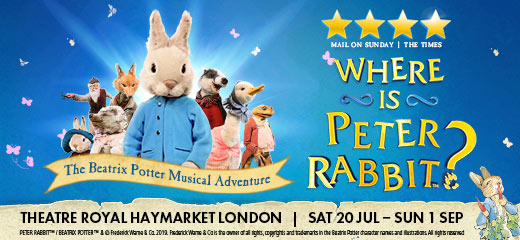 Where is Peter Rabbit™?
