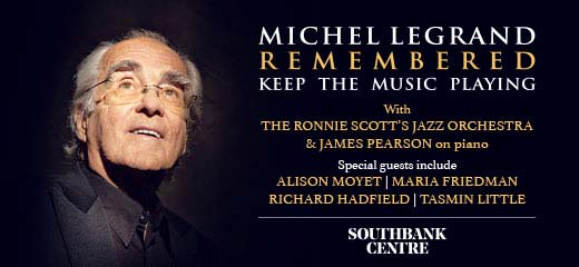 Michel Legrand Remembered: Keep The Music Playing