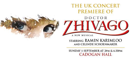 Doctor Zhivago Tickets | London Theatre Tickets | Cadogan Hall