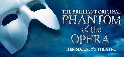 The Phantom of the Opera + 2 Course Dinner
