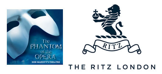 The Phantom Of The Opera + 3 Course Dinner & Glass of Champagne at The Ritz