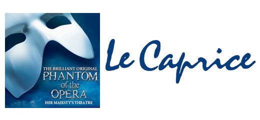 The Phantom Of The Opera + 2 Course Post-Theatre Dinner at Le Caprice