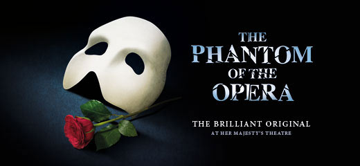 The Phantom Of The Opera + FREE Afternoon Tea (Charing Cross Hotel)