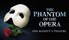Book  The Phantom of the Opera London Tickets