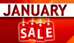 Book your January Sale Deals now