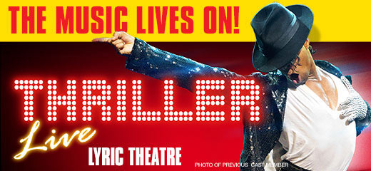 Thriller - Live + FREE 1 Course Dinner