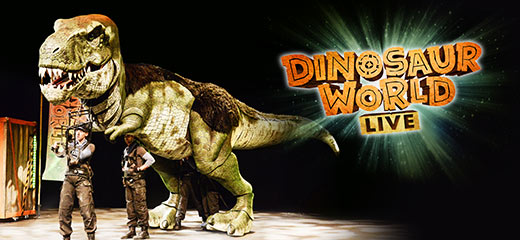 Dinosaur World Live - Open Air Theatre