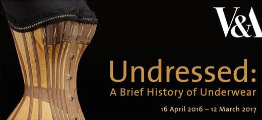 Undressed: A Brief History Of Underwear Tickets