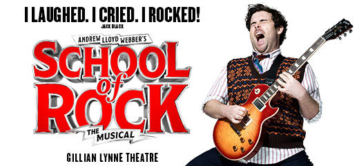 School of Rock + 2 Course Pre-Theatre Dinner at Balthazar