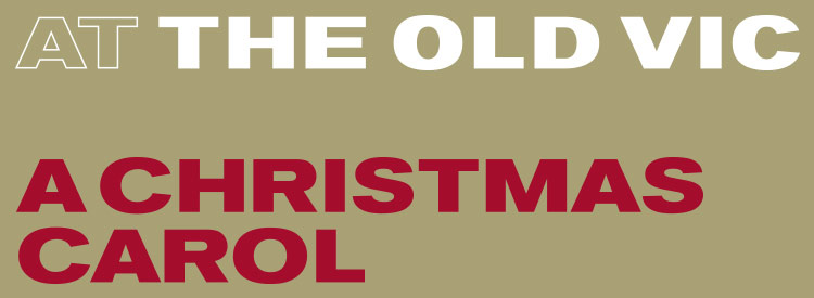 472a979b15990 A Christmas Carol at The Old Vic Tickets