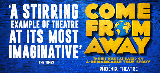 Broadway's Come From Away transfers to the Phoenix Theatre