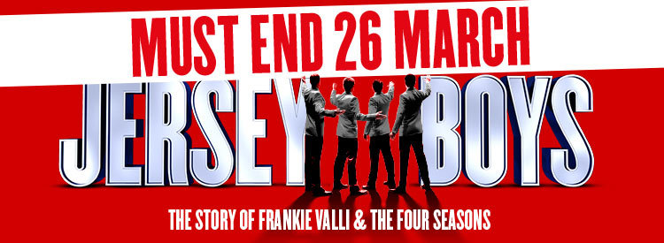 Jersey Boys Tickets | London Theatre Tickets | Piccadilly