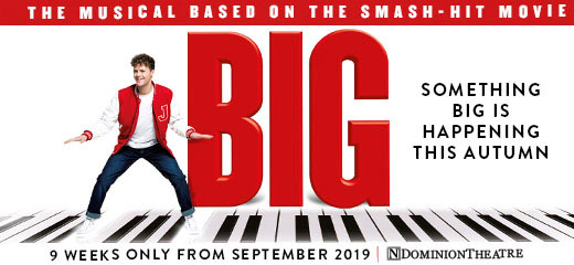 Kimberly Walsh, Wendi Peters & Matthew Kelly to join Jay McGuiness in BIG The Musical