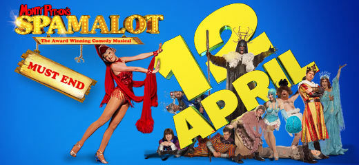 Spamalot + FREE Afternoon Tea (The Royal Horseguards Hotel)