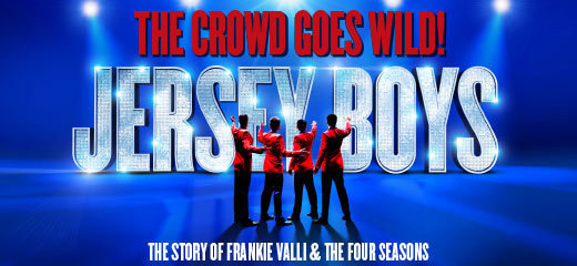 Jersey Boys + FREE 2 Course Dinner
