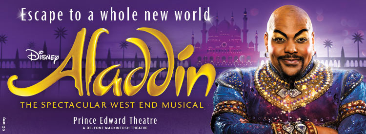 Aladdin Tickets, Prince Edward Theatre, London