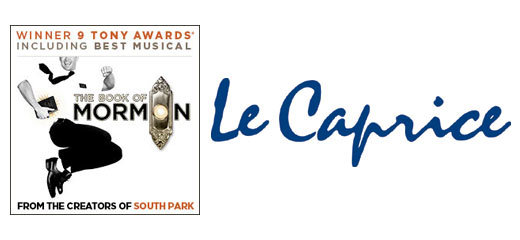 The Book Of Mormon + 2 Course Pre-Theatre Dinner at Le Caprice