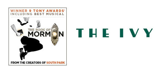 The Book Of Mormon + 2 Course Post-Theatre Dinner at The Ivy