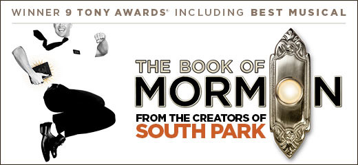 The Book Of Mormon + 3 Course Meal & Glass of Wine at the Haymarket Hotel