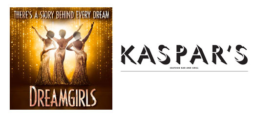 Dreamgirls + 2 Course Pre-Theatre Dinner at Kaspar's at The Savoy plus Programme & Champagne