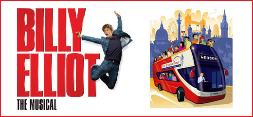 Billy Elliot The Musical + London Bus Tour