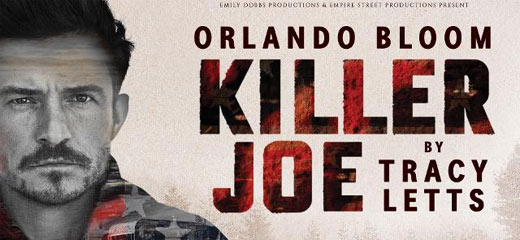 Orlando Bloom returns to the West End in Killer Joe