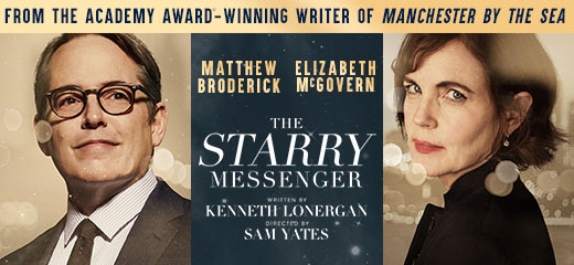 The Starry Messenger + 2 Course Post-Theatre Dinner at The Ivy