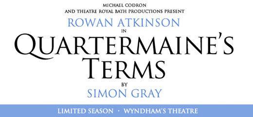 Quartermaine S Terms Tickets London Theatre Tickets
