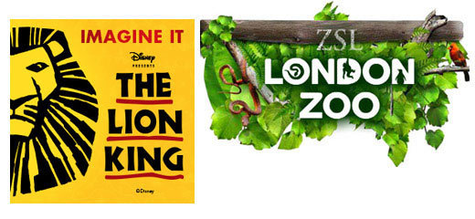 The Lion King + FREE Entry to ZSL London Zoo