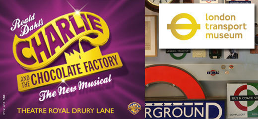 Charlie And The Chocolate Factory + FREE Entry to the London Transport Museum