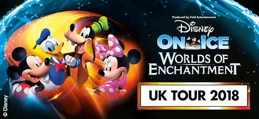 Disney On Ice presents Worlds of Enchantment - London Wembley