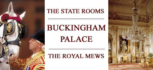 The State Rooms and Royal Mews, Buckingham Palace