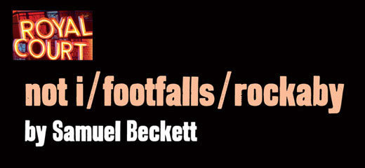 Not I, Footfalls, Rockaby - Beckett Trilogy + Premium 3 Course Dinner