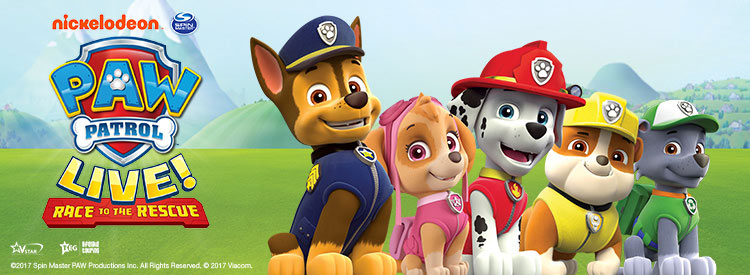 PAW Patrol Live! 'Race to the Rescue' Tickets | Birmingham Theatre