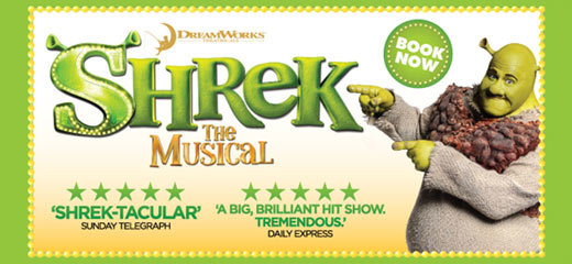 Shrek The Musical embarks on UK tour