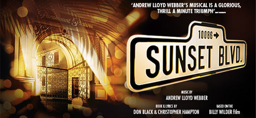 Sunset Boulevard tickets - New Wimbledon Theatre