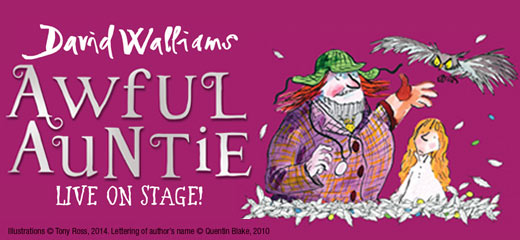 Awful Auntie tickets - the New Wimbledon Theatre