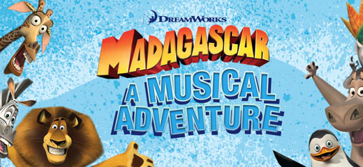Madagascar - A Musical Adventure tickets - the New Wimbledon Theatre