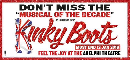 Kinky Boots + FREE 2 Course Dinner