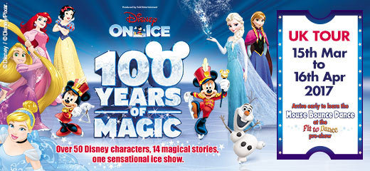 Disney On Ice: 100 Years of Magic - Glasgow Braehead Arena