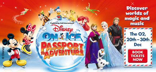 Disney On Ice presents Passport To Adventure - London O2 Arena