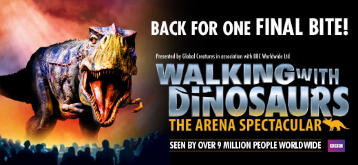 Walking With Dinosaurs Tour - London O2 Arena