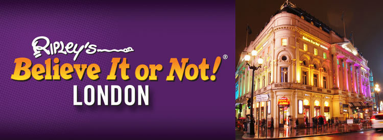 ripley s believe it or not tickets london attractions tickets