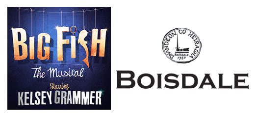 Big Fish The Musical + 2 Course Meal & Glass of Champagne at Boisdale of Belgravia